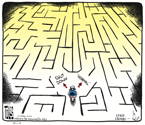 Cartoon -- shutdown - normal
